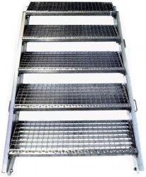 Nastavitelné schody 60 - 100 cm